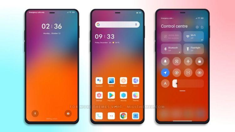 [HERUNTERLADEN] :  Warmes MIUI-Thema    Sauberes und minimales Thema für Xiaomi-Geräte