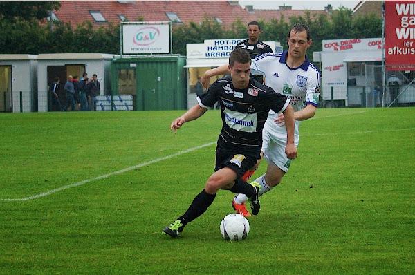 SV Roeselare tegen RSC Anderlecht, 28 juni 2013, Schiervelde