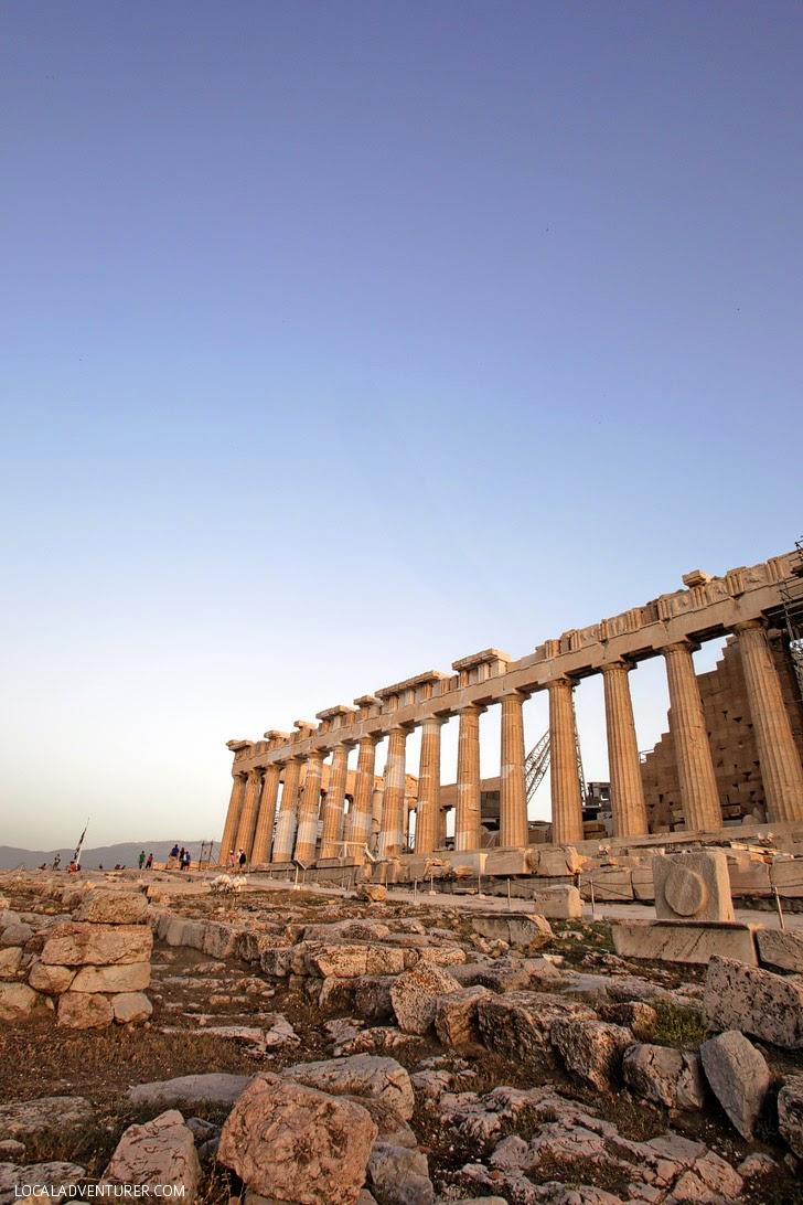 Ancient Greece Parthenon.