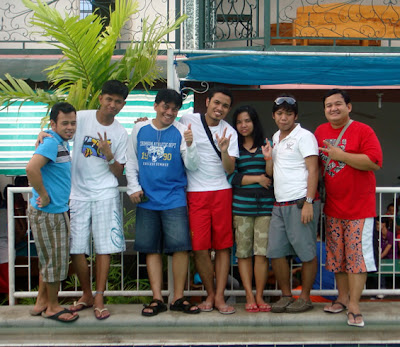 Alumni (From Left): Owen, Edward, Sir Jojo, Sir Jerome, Ivy, Jerson and Sir Ervin