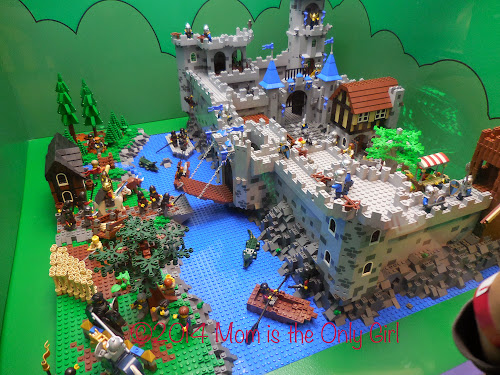 LEGO Castle Exhibit http://www.momistheonlygirl.com