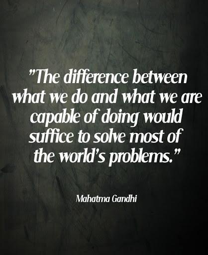 gandhi quotes on peace