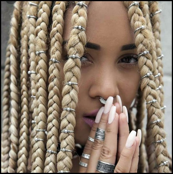 +10 Pretty African American Braided Hairstyles 2018 3