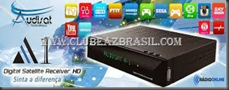 AUDISAT A1 HD NOVA ATUALIZAÇÃO AJUSTES KEYS - ADICIONADO 53W