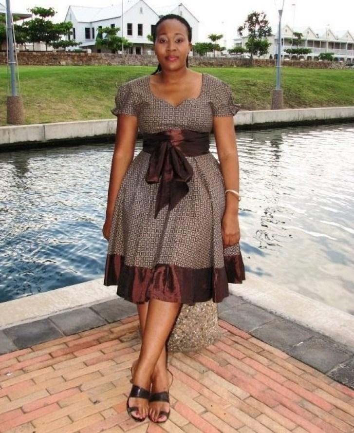 Shweshwe Traditional Dresses Designs 2016 2017 Fashionte