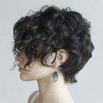 Classy & Curly Pixie Haircut For Women