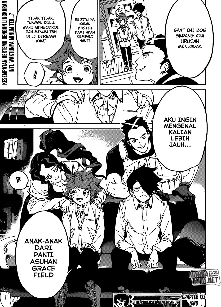 The Promised Neverland: Chapter 123 - Page 22