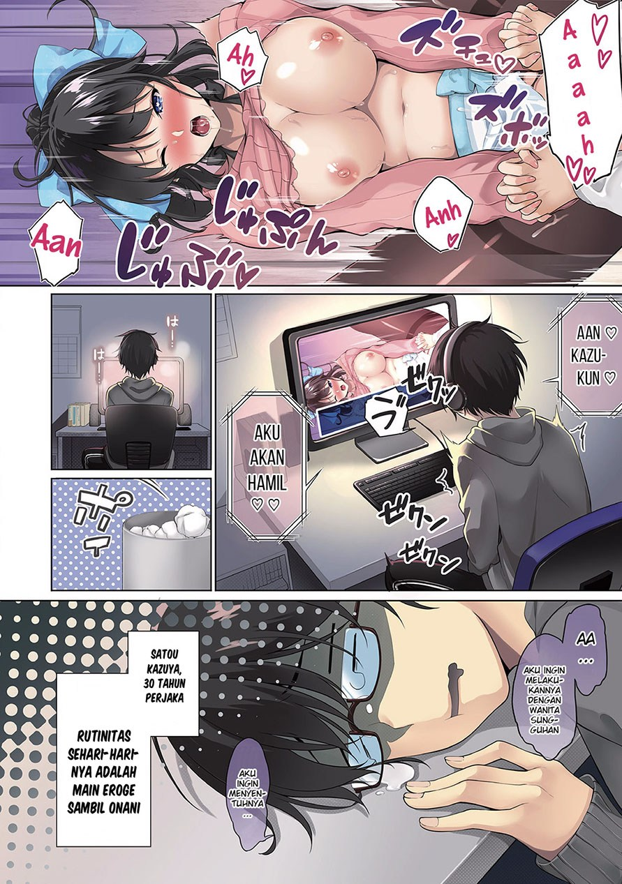 Satou-kun wa Nozotte iru. ~Kamisama appli de onna no ko no Kokoro wo nozoitara do ×× datta: Chapter 01 - Page 6
