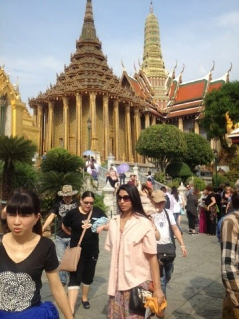 The Grand Palace temples and monuments
