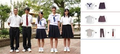 遊学館高等学校の女子の制服4