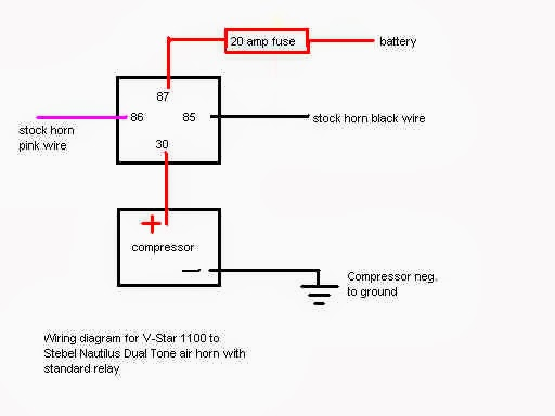wiring diagram for air horn relay wiring image wiring diagrams air horn relays jodebal com on wiring diagram for air horn relay