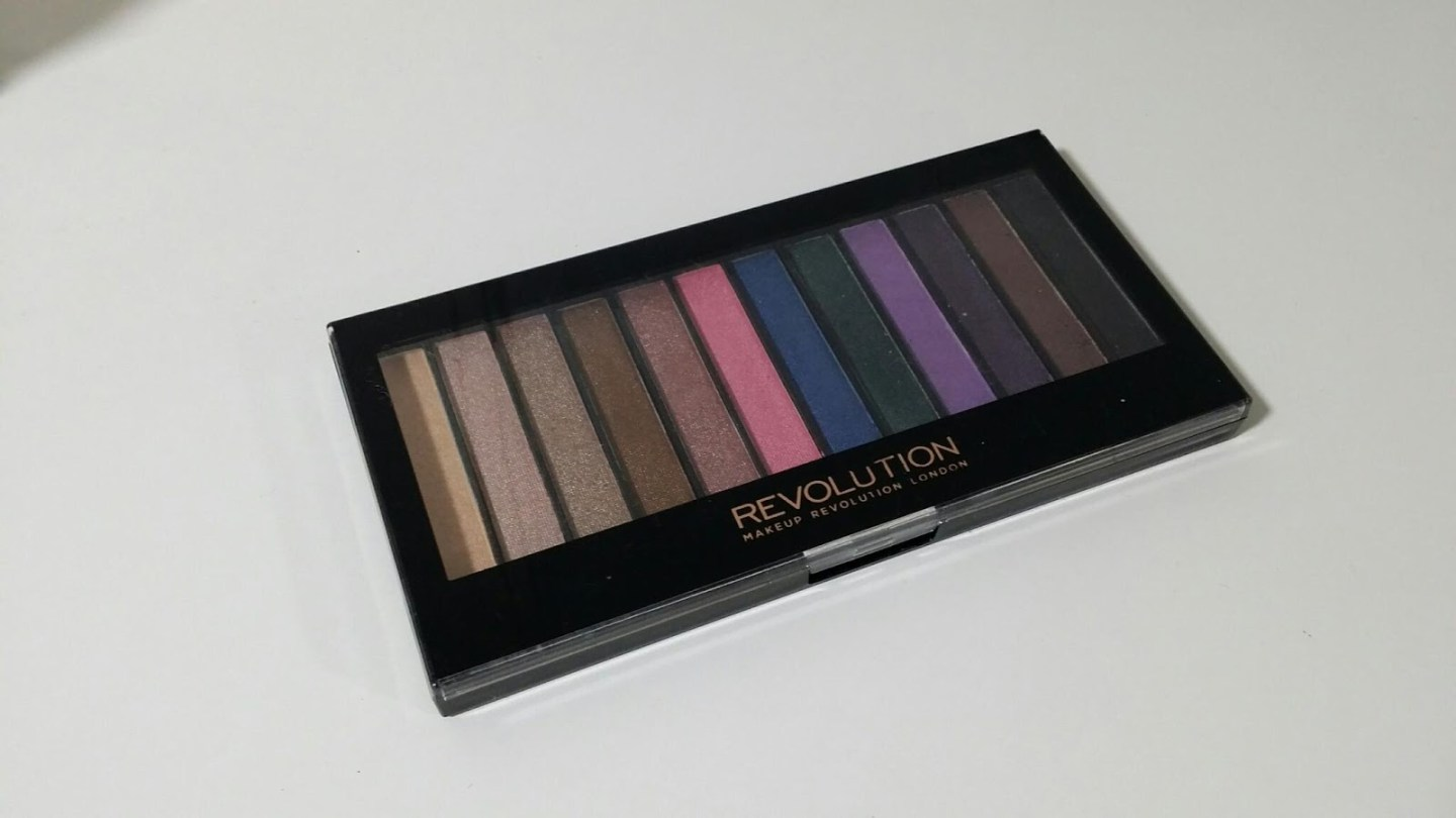 makeup revolution eyeshadow palette budget makeup student