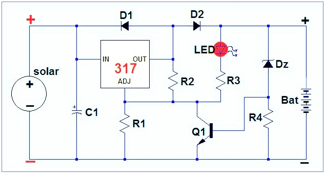Electronic Circuits, Transformerless Power Supply, LED