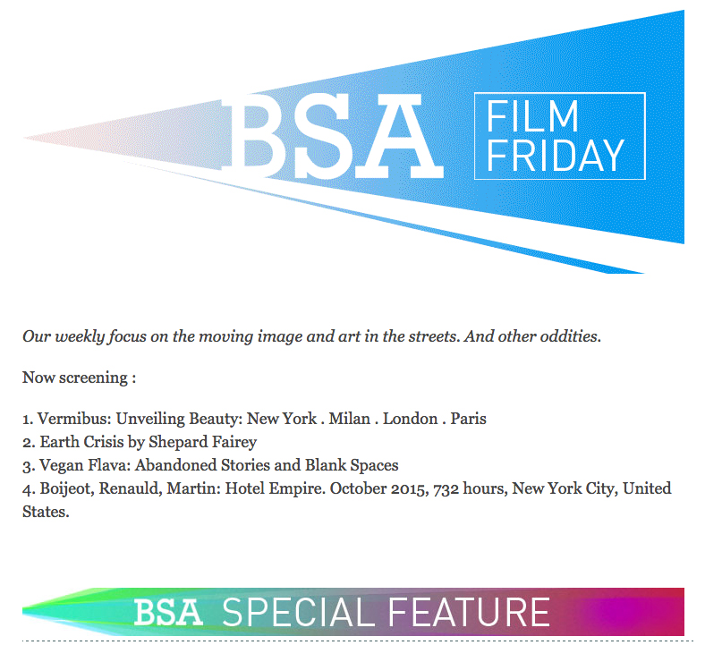 BSA FILM FRIDAY: 11.27.15 - brooklynstreetart.com