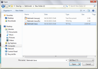 batimetri GeoTIFF Format