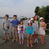 Traversam Dunarea cu bacul la Chiciu