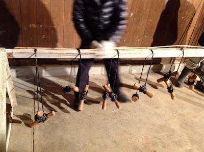 伝統的な玉露や抹茶の覆いで使われる、よしずの作り方 - 5