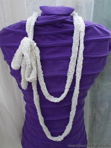 körmöcskével készült nyaklénc