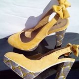Shoes of Shweshwe 2015 2016