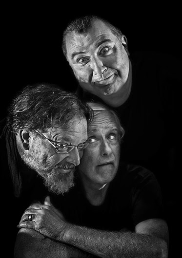 The 3 LIVE! Goons; photo thanks to David Hill of Blue Mountains, Lithgow and Oberson Tourism