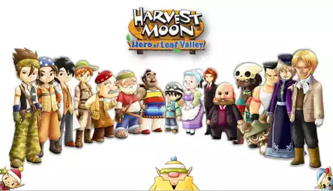 Walkthrough Harvest Moon Hero Of Leaf Valley Ppsspp