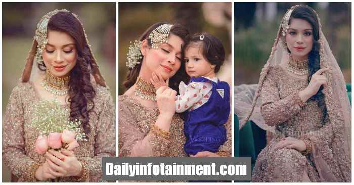 Actress Sidra batool Uber Chic Pictures from Bridal Shoot