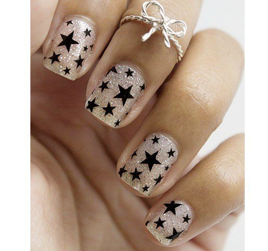 The Best Cool Star Nail Art Styles With More Ideas For Ladies In
