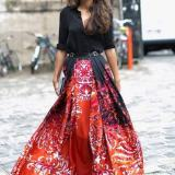 Long Skirts LookBook Outfits