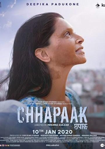 Chhapaak%2Bposter Chhapaak (2020) Full Movie Download 300MB 480P PDVD HD Free Hindi