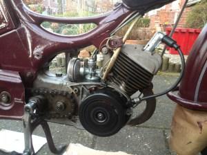 Simson sr2e motor Somerda