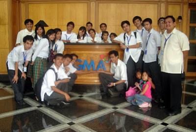 March 12: GMA logo at the main lobby