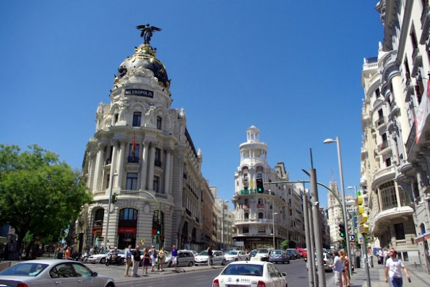 Gran Vía de Madríd