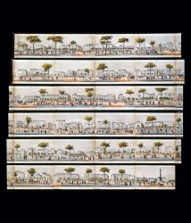 12 Les Grands Boulevards de Paris de la Madeleine a la Bastille 1820 Joachim Bonnemaison