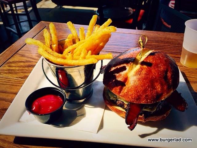 RnR Scottsdale Gastropub Bacon Brussels Burger