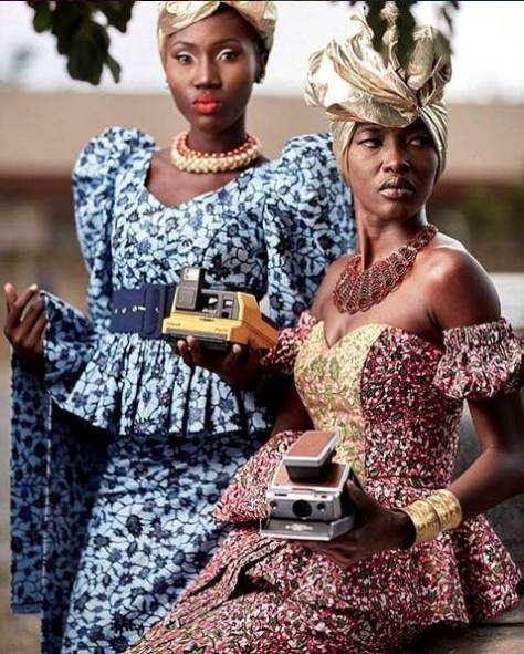 Ghanaian Kaba And Slit Styles 2017 2018