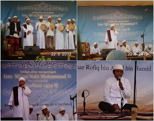 Habib Umar Rofiq bin Ali-Al bin Hamid, Ba'alawi Sompok Soreang, PPM Miftahul Khoir, Rajaban Bandung, Isro Mi'roj Bandung