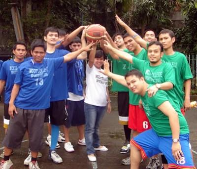 Basketball Ceremonial Toss Ma'am Dianne