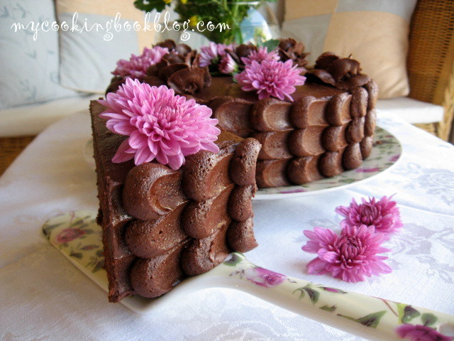 Торта Шоколадов Фъдж (Chocolate Fudge Cake)
