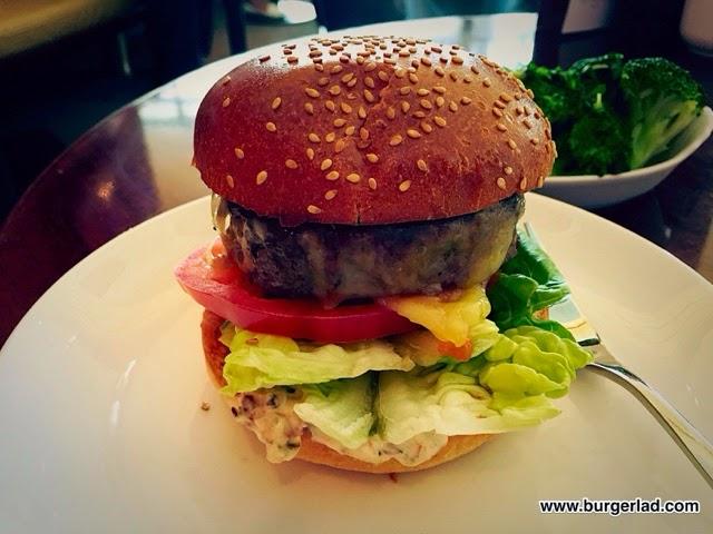 Plane Food Short Rib Burger
