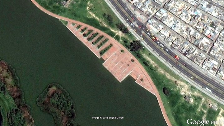 Puerto en el humedal Tibabuyes