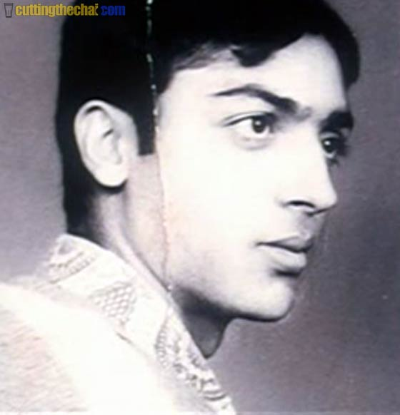 Gulshan Grover (Childhood, teenage and youth photos)