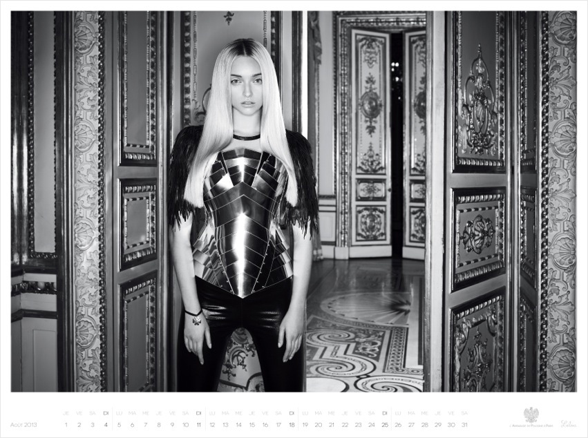 *Piotr Stoklosa 鍾情洛可可:拍攝系列 2013 Polish Embassy in Paris年曆! 12