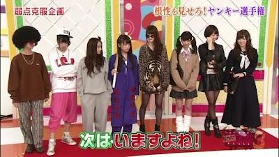 NOGIBINGOの企画でヤンキーのになる乃木坂46のメンバー
