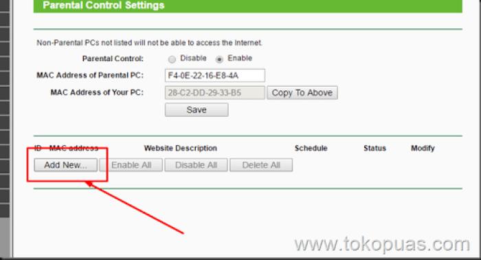 trik memblokir situs agar tidak bisa di akses wifi