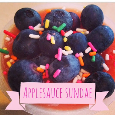 Applesauce Sundae