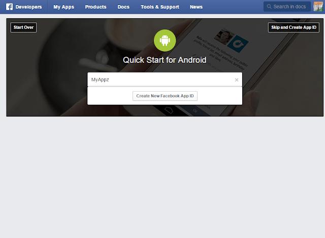 Nameyour facebook App