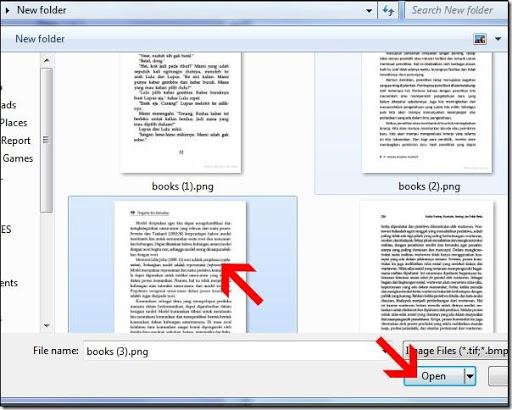 cara mudah mengcopy text dari dalam halaman gambar
