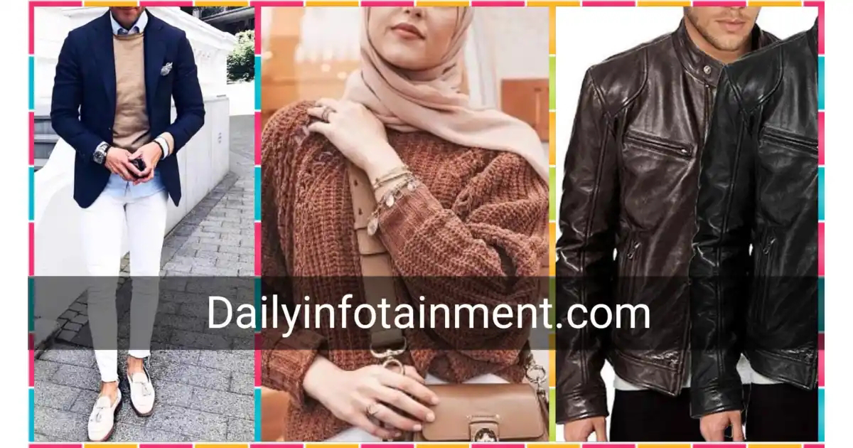The best fashion trends in winter!  What clothes are being worn nowadays?