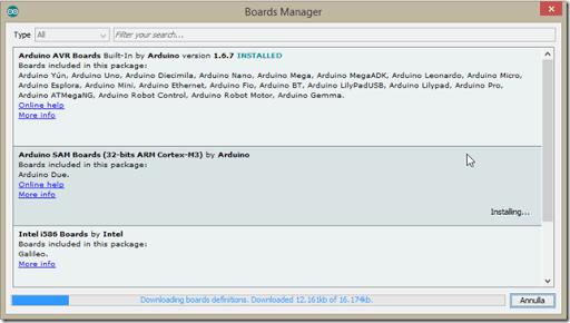 5 Download board definitions thumb1 - Sviluppare con Arduino due