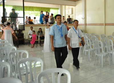 Sir Jerome in a Graduation March together with Bethsaida's Executive Director Ptr. Ben Hugo